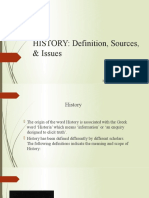 HISTORY-Definition-Sources-Issues..pptx