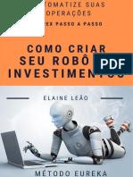 eBook Como Criar Seu Robô de Investimentos