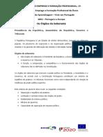 Ficha Informativa Os orgaos de Soberania