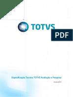 Especificação Técnica - ToTVS Avaliação e Pesquisa 12.1.2