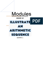 Q1M2_Math10_Illustrating an Arithmetic Sequence