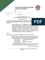 5 TRIBUTARIA III CASOS PRACTICOS 16102020