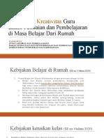 Penilaian dan Pembelajaran saat BDR_LPMP Kalsel