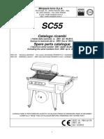 Catalogo ricambi confezionatrice SC55