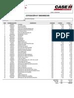 COTIZACIÓN N° 00020002190