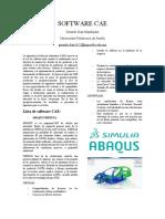 Investigación Software CAE - Gerardo Díaz Mandujano