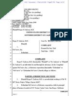 Jackson v. Nuvasive - Complaint (sans exhibits)