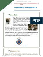 Unidad 2. Organizaciones sanitarias en urgencias y emergencias.