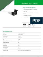 Datasheet VHD 3240 FULL COLOR