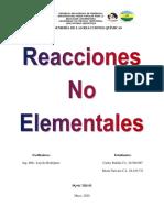 Evaluación 4 IRQ. Reacciones No Elementales