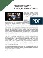 Una Distopía Virtual, Un Mundo de Cabeza - Laura María Monroy Manrique