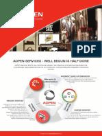 AOPEN Services Flyer