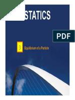 StaticsC03_Equilibrium of a Particle