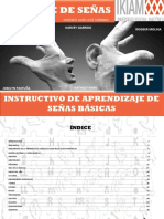 Instructivo de Aprendizaje de Señas Basicas