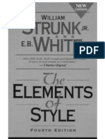 Strunk Jr., William; White - The Elements of Style (4ed)