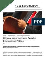 Origen e importancia del Derecho Internacional Público _ DIARIO DEL EXPORTADOR.pdf