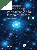 Qué Sabemos de.... Verdades y Mentiras de La Física Cuántica - Carlos Sabin