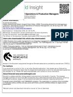 Kalchschmidt, M., Verganti, R., & Zotteri, G. (2006). Forecasting demand from heterogeneous customers..pdf