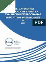 Ejes, categorÍas e indicadores para la evaluación de programas educativos PRESENCIALES.pdf