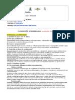 Lista de Exercícios no Word Pavimentação UFPB