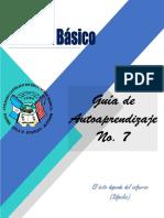 1º Básico Guía de Autoaprendizaje No.7