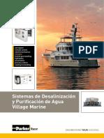 CATALOGO DESALINIZADORAS DE AGUA PARKER