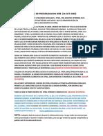 EXAMEN  1 DE PROGRAMACION WEB