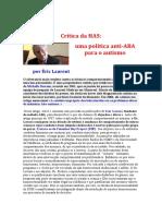 Crítica da HAS_autismo_Laurent