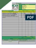 Presupuesto PC BOX