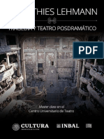 Lehmann, Hans-Thies - Tragedia y teatro posdramático