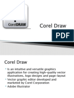 Corel Draw - Interface/Toolbars