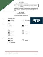BBYN4103 - Questionnaire Survey