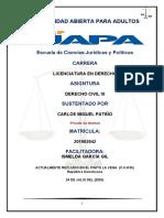 3 y 4 TAREA Derecho Civil III (Responsabilidad Civil)