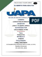 Trabajo Final Lógica y Filosofía Jurídica