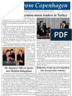 Petros Efthymiou, President of the OSCE PA meets leaders in Turkey
