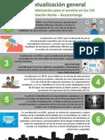 Editable modelo de estrategia V por Objetivos.pptx