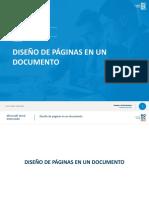 4. Diseño de páginas en un documento