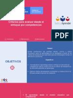 PPT Criterios de evaluación desde el enfoque por competencias (2) (1)
