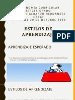 Autonomía Curricular- Clase Del 20 de Octubre 2020