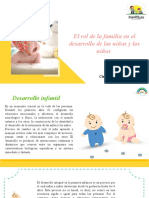 El rol de la familia en el desarrollo de las niñas y los niños