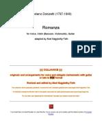 Donizetti - Romanza