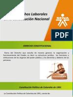 DERECHOS LABORALES EN LA CONSTITUCION POLITICA NACIONAL