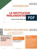 17. LA INSTITUCION PARLAMENTARIA