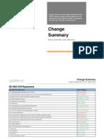 ISO 45001 Change Summary