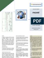 folleto PAGARE