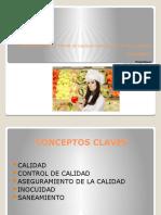 ASEGURAMIENTO Y CONTROL DE CALIDAD E INOCUIDAD