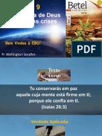 lição 9 A soberania de Deus em meio as crises