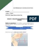 8vo basico, resistencia y pulso cardiaco