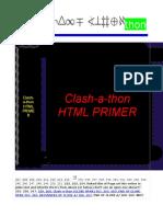 Copy of Clash-a-thon HTML PRIMER