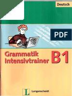 B1 GRAMMATIK